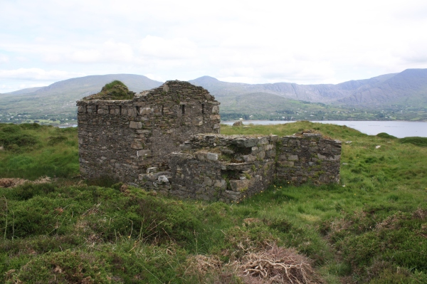 The Battery building at Ardagh, overlooking Berehaven. One of the sites that will be surveyed during the project.